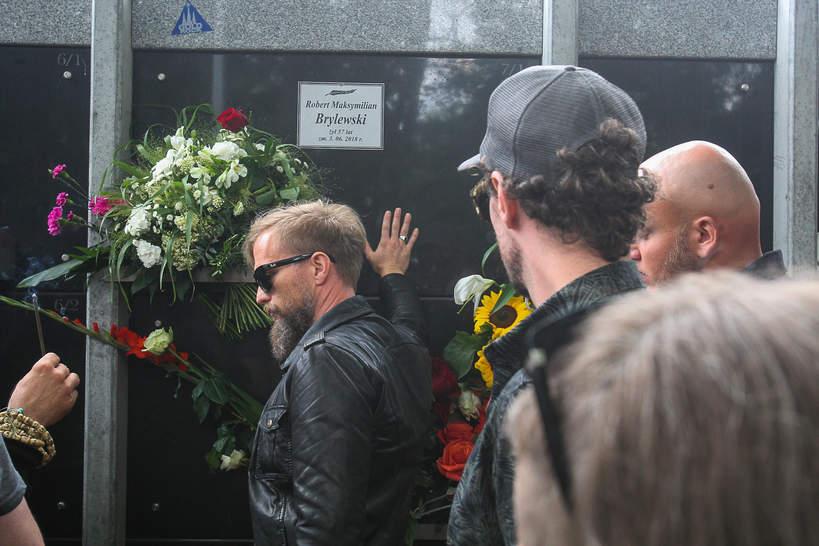 Robert Brylewski pogrzeb