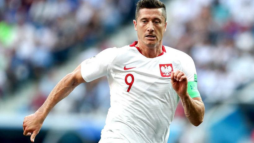 Robert Lewandowski, mecz Polska-Japonia, Mundial 2018