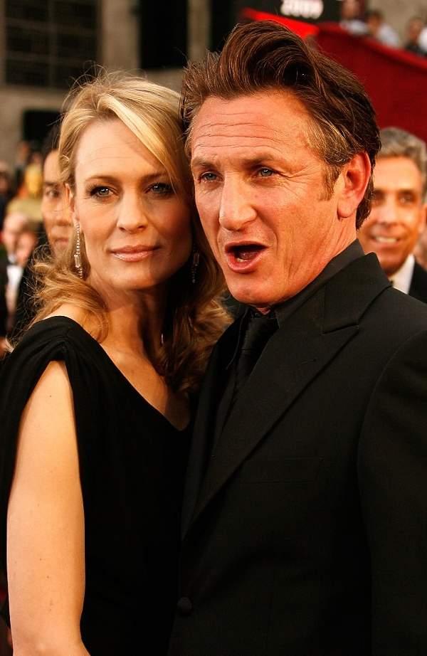 Robin Wright i Sean Penn