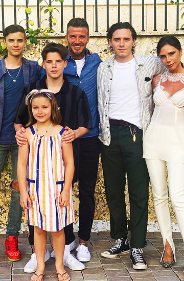 Rodzina Beckhamów, David Beckham, Victoria Beckham, Romeo Beckham, Cruz Beckham, Harper Beckham, Brooklyn Beckham