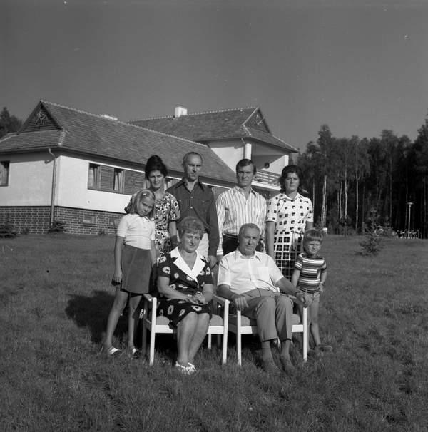 Rodzina Edwarda Gierka, I sekretarza KC PZPR