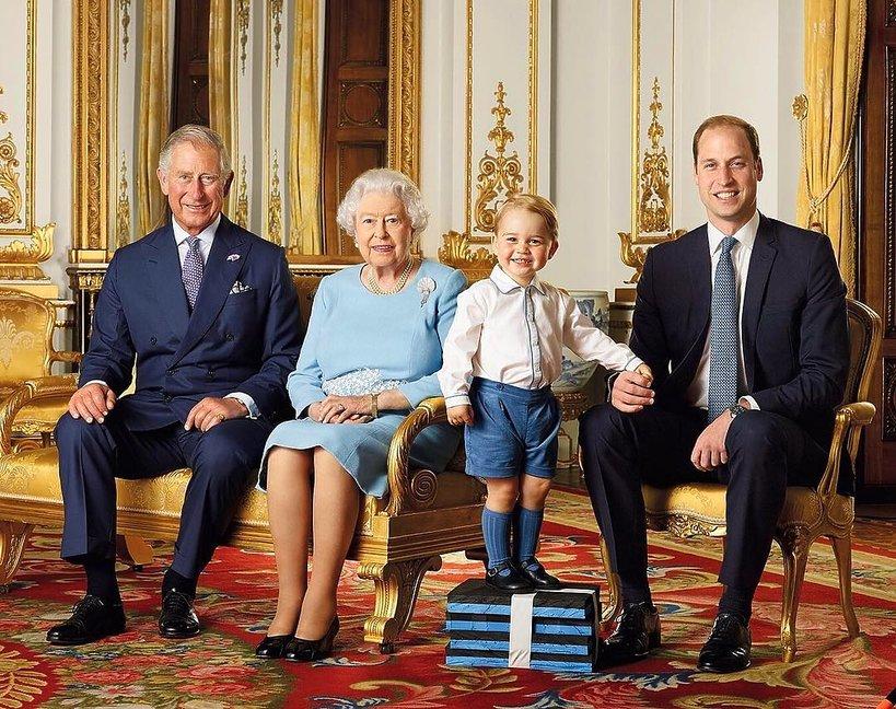 Rodzina Królewska, 4 pokolenia