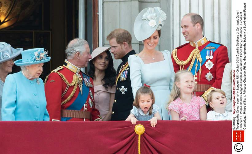 rodzina królewska, książę Harry, księżna Meghan, Meghan Markle, Obchody urodzin królowej Elżbiety II 2018 rok