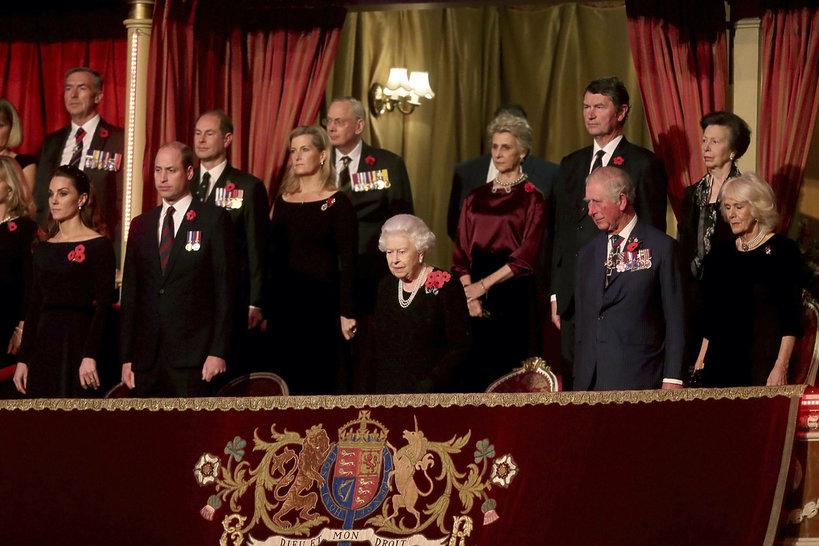 Rodzina królewska, Royal Albert Hall, listopad 2019