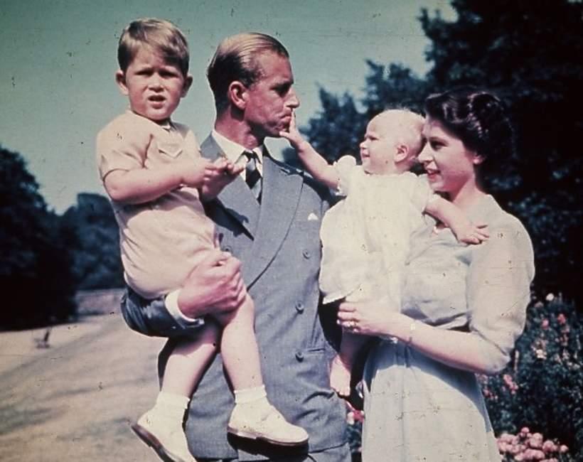 Rodzina księcia Filipa siostry