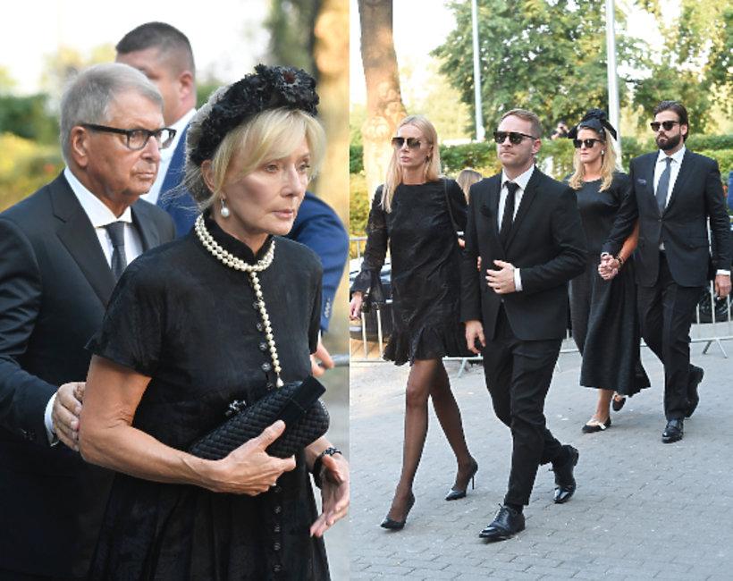 Rodzina Piotra Woźniaka-Staraka pogrzeb
