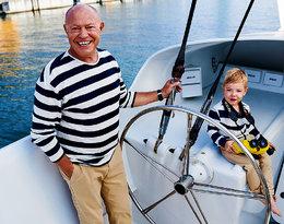 On ma 66 lat, a jego syn... trzy! O późnym ojcostwie opowiada kapitan Roman Paszke