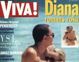 Romans Diany zdjęcia paparazzi na okładce Vivy!