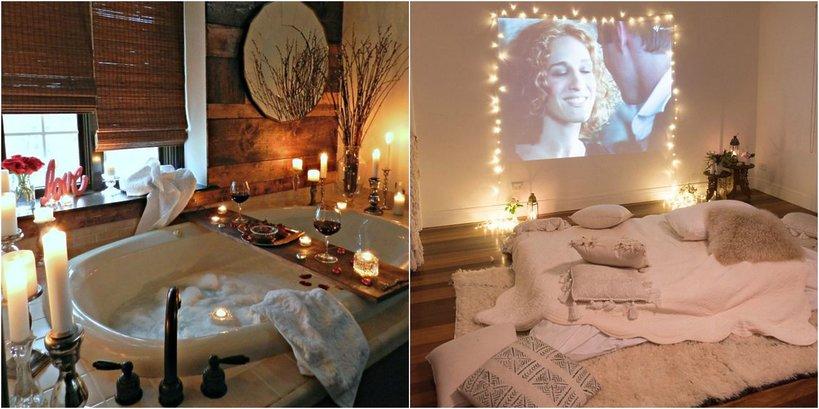 Romantyczny wieczór filmowy