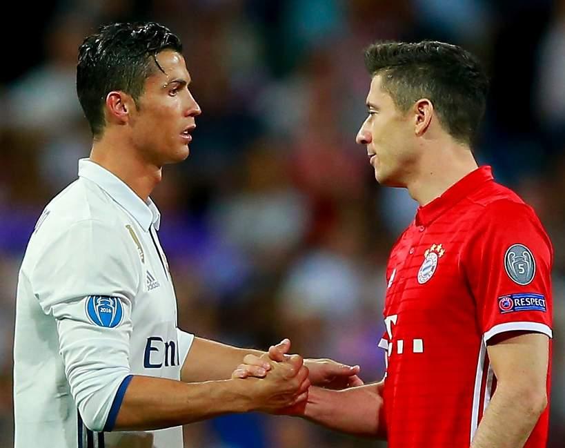 Ronaldo, Lewandowski