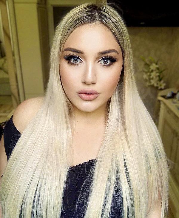 Rosjanka makijaż