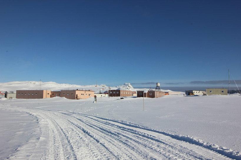 Rosyjska stacja na Antarktydzie