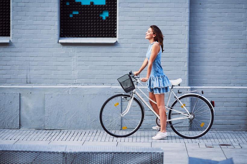 Rower kobieta