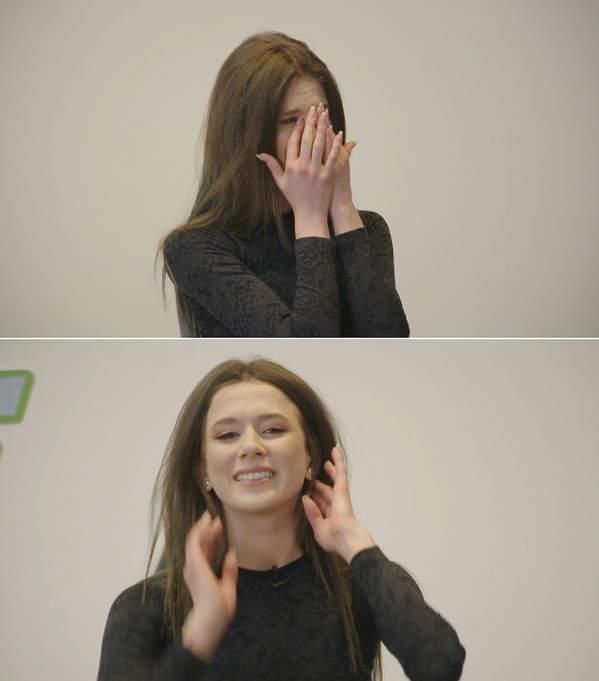 Roxie płacze w dance dance dance