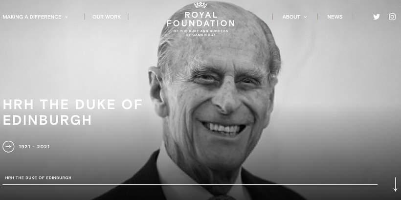 Royal Foundation hołd dla Filipa