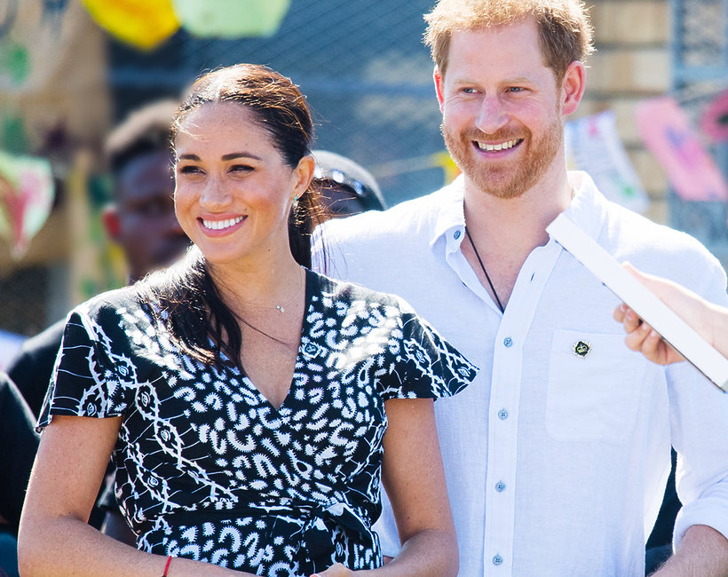 Royal tour 2019 Meghan i Harry