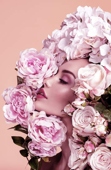 różane perfumy na walentynki