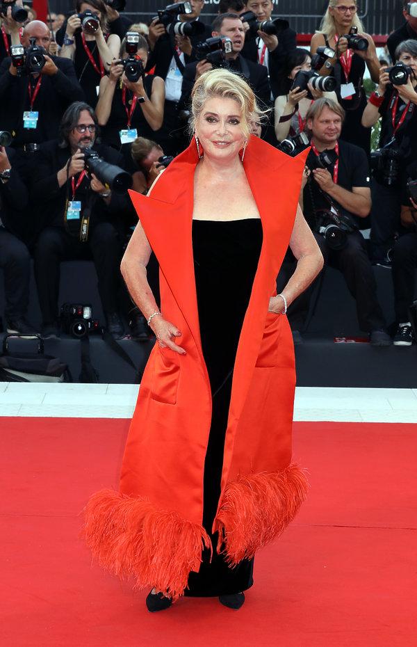 rozpoczęcie 76 festiwalu filmowego w Wenecji, Catherine Deneuve