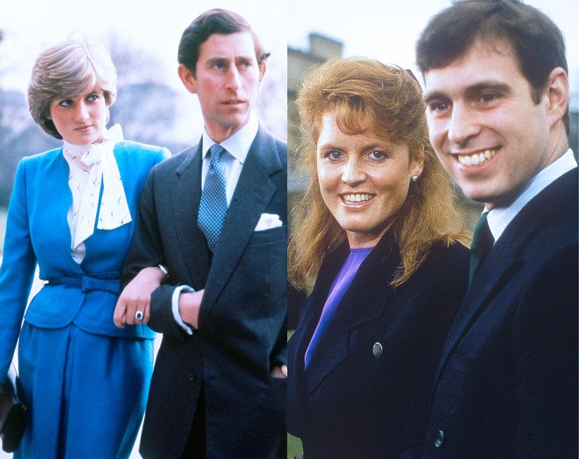 Rozwody w brytyjskiej rodzinie królewskiej, zaręczynowe zdjęcia rodziny królewskiej