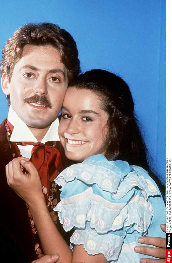 Ruben de Falco (Leoncio) i Lucelia Santos (Niewolnica Isaura)