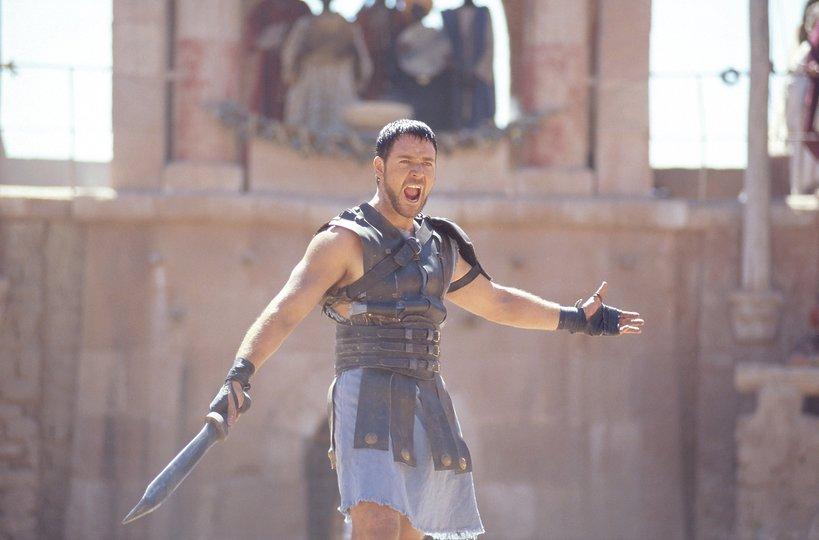Russel Crowe, Gladiator