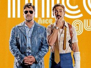 Ryan Gosling i Russell Crowe w filmie Nice Guys. Równi goście