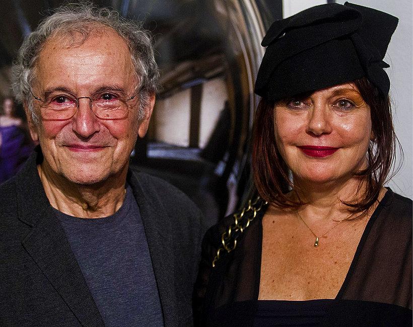 Ryszard Horowitz i Anna Bogusz