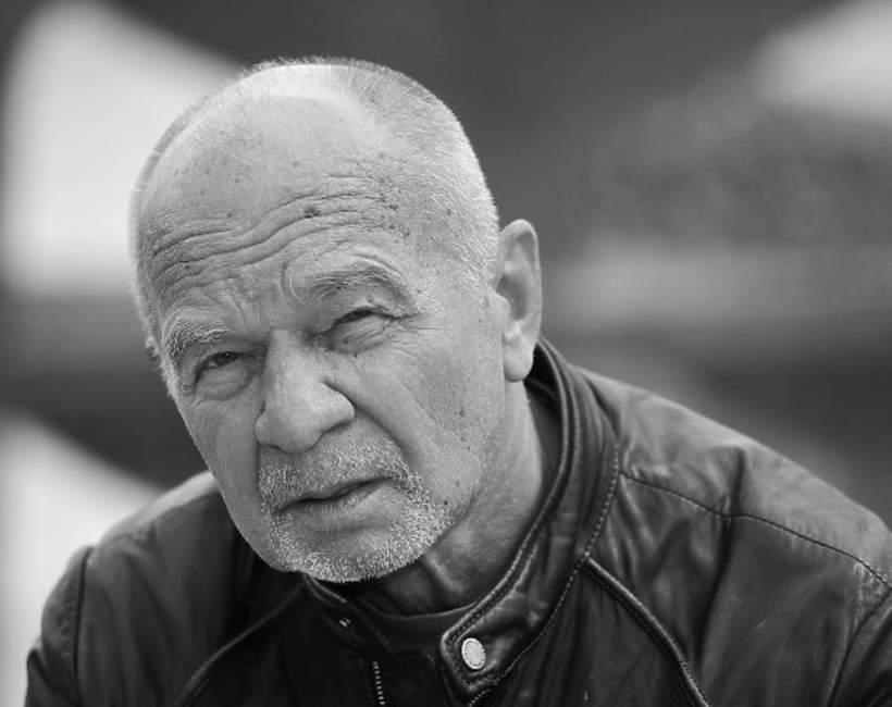Ryszard Kotys czarno-biały portret