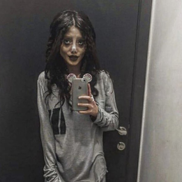 Sahar Tabar, Zombie Angelina, Fanka Angeliny Jolie
