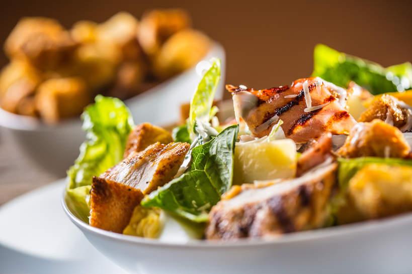 Salatka Cezar w 15 minut