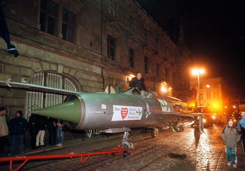 Samolot MIG-21 wylicytowany na aukcji WOŚP