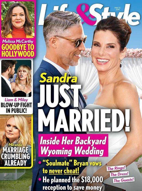 Sandra Bullock ślub