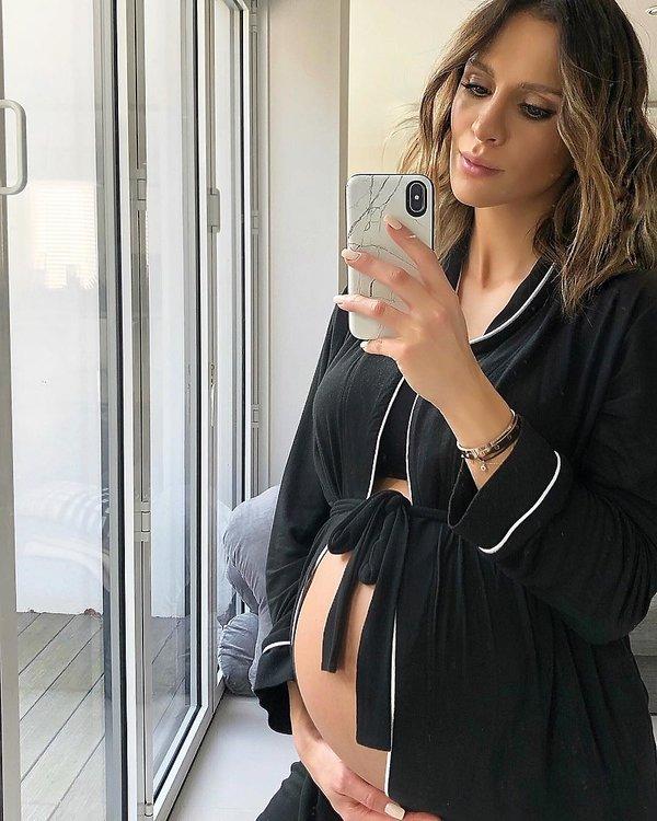 Sara Boruc Mannei w ciąży