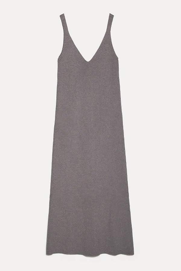 sara-boruc-w-modnej-dzianinowej-sukience-podobne-modele-znalezlismy-w-zara-za-39zl