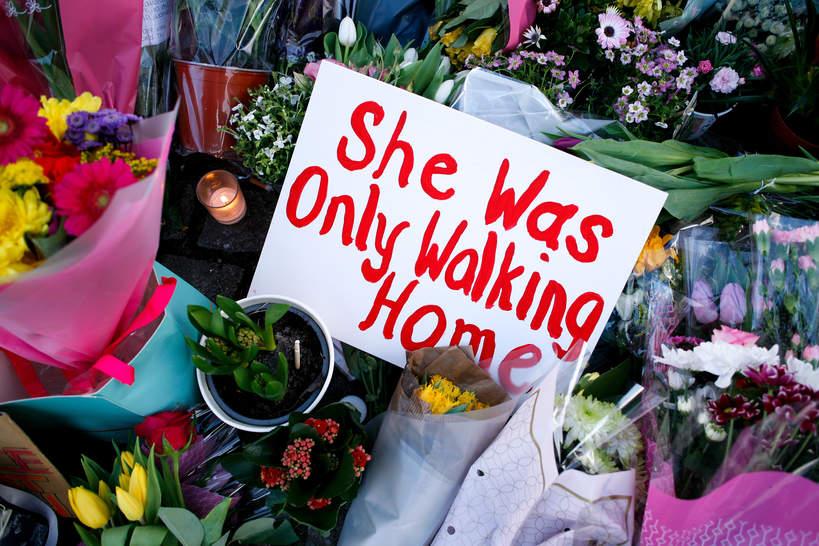 Sarah Everard, zabójstwo w Londynie