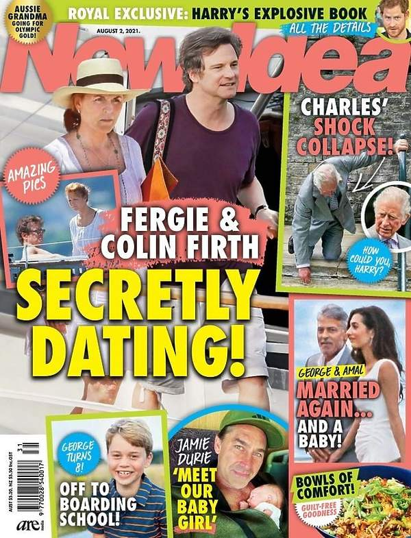 Sarah Ferguson i Colin Firth