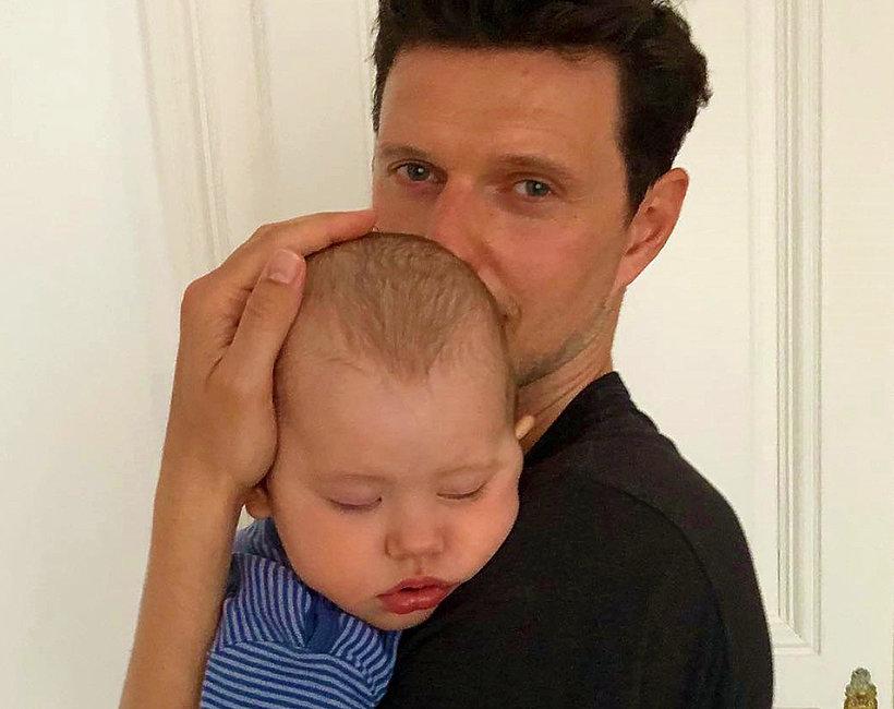 Sasha Knezevic z synem