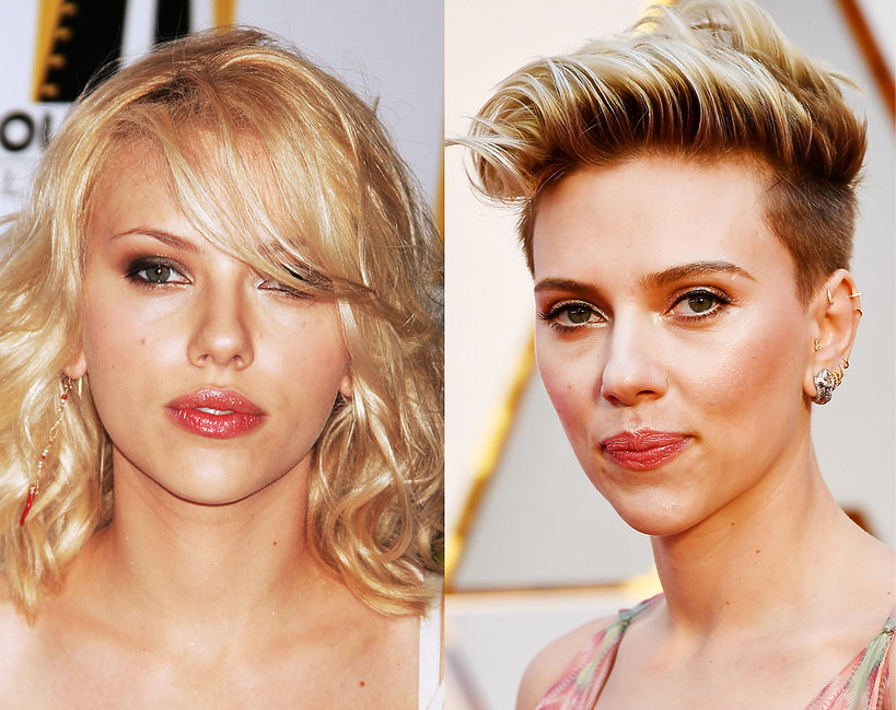 Scarlett Johansson metamorfoza