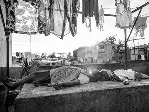 """Scena z filmu """"Roma"""""""
