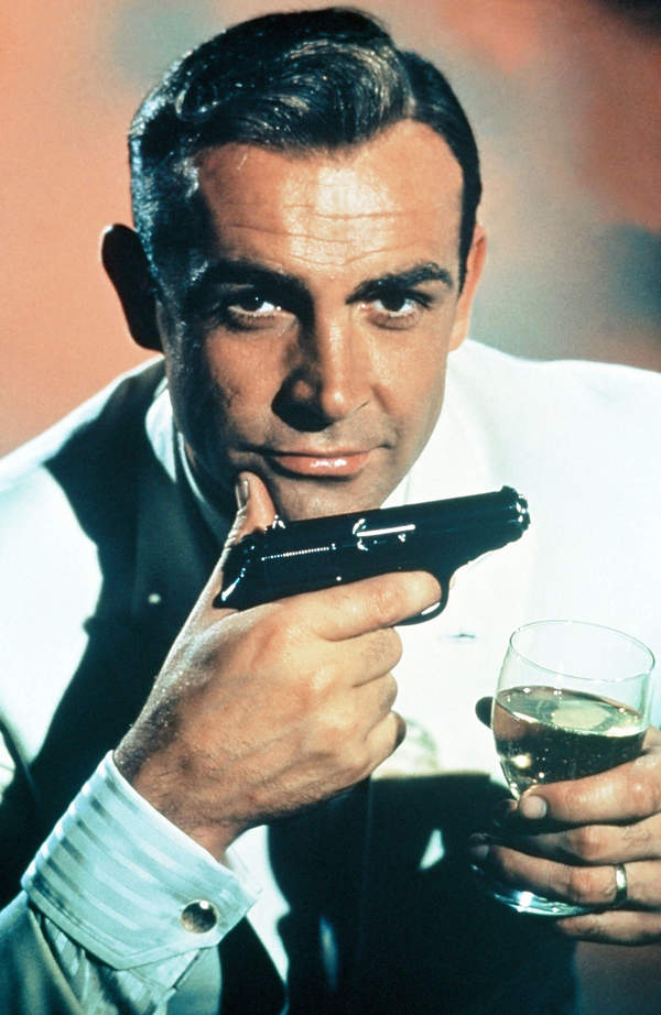 Sean Connery, James Bond, Doktor No
