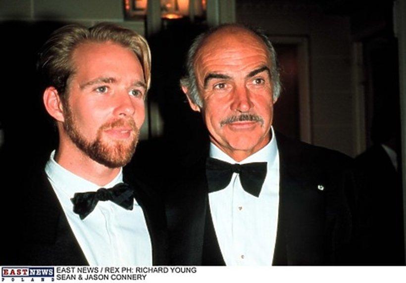 Sean Connery z synem Jasonem