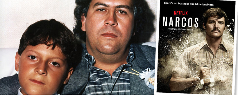 Sebastian Marroquí syn Pablo Escobara