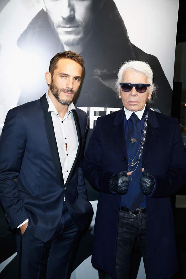 Sebastien Jondeau, Karl Lagerfeld