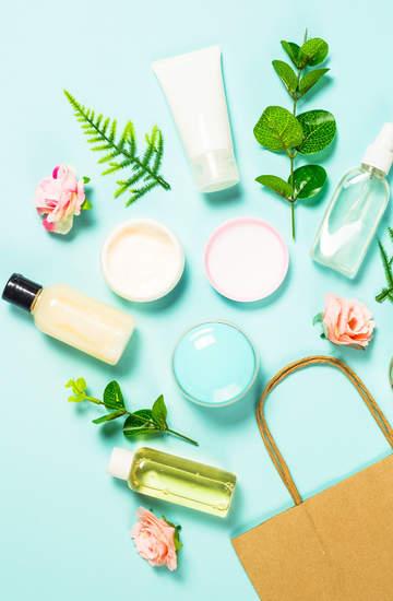 segregowanie kosmetycznych śmieci