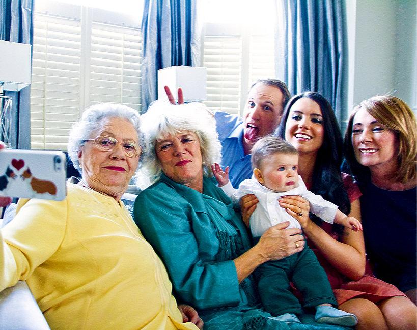 Selfie brytyjskiej rodziny królewskiej
