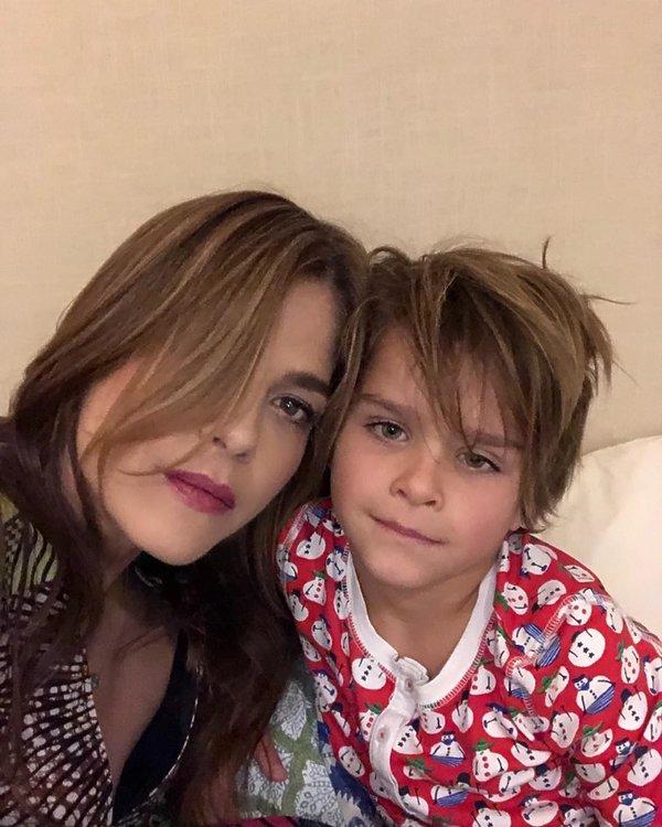 Selma Blair z synem