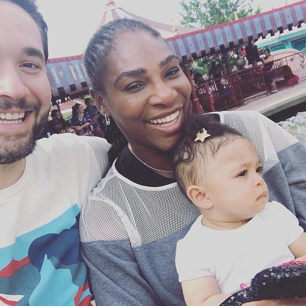 Serena Williams, Alexis Ohanian, córka Sereny Williams