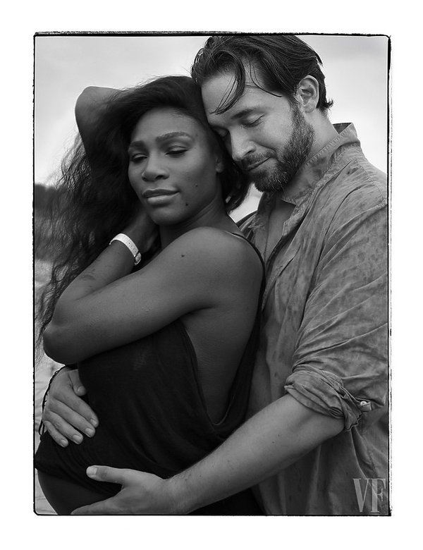 Serena Williams w Vanity Fair