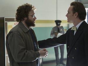 Seth Rogen i Michael Fassbender