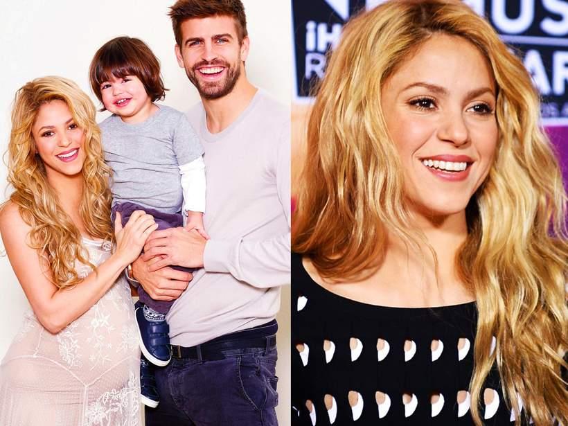 Shakira z synem Milanem